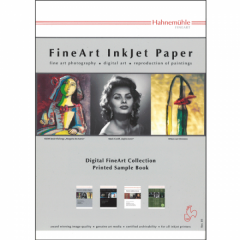 Hahnemühle FineArt bedrucktes Musterbuch A6