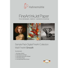 Hahnemühle Matt FineArt Smooth Musterpack A4