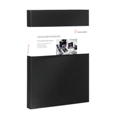 Portfolio Box Photo Rag Metallic A3+ 50 Blatt