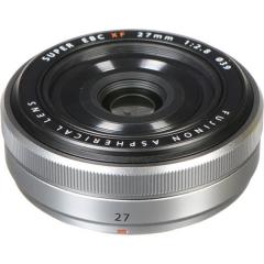 Fujinon XF 27mm f/2.8 Silver