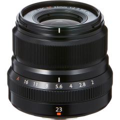FUJINON XF 23mm f/2 R WR Black