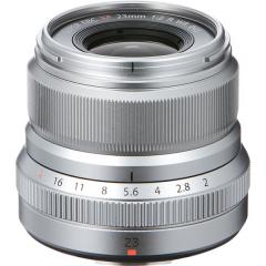 Fujinon XF 23mm f/2 R WR Silver