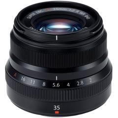 FUJINON XF 35mm f/2 R WR Black