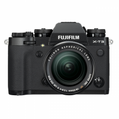 FUJIFILM X-T3 Black Kit XF18-55mm