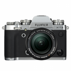 FUJIFILM X-T3 Silver Kit XF18-55