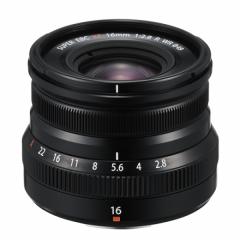 FUJINON XF 16mm F2.8 R WR Black