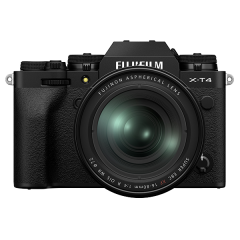FUJIFILM X-T4 Black Kit XF 16-80mm