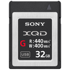 XQD Speicherkarte G-Serie 32GB, 440MB/s