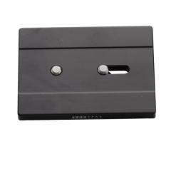 Kameraplatte Classic 2x1/4, 80 x 60 mm