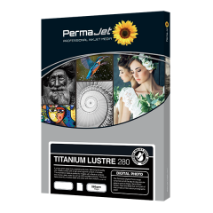 Titanium Lustre 280 A2 420x594mm 25 Blatt