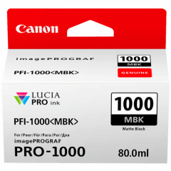 Canon Ink PFI -1000 Photo Matte Black