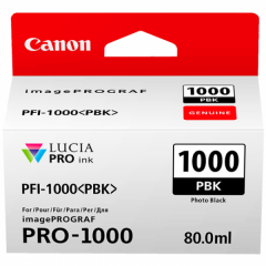 Canon Ink PFI -1000 Photo Photo Black