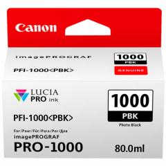 Canon Ink PFI -1000 Photo Photo Black