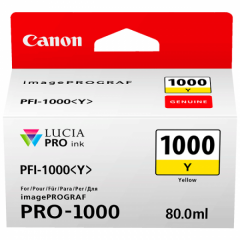 Canon Ink PFI -1000 Yellow