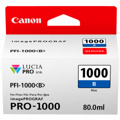 Canon Ink PFI -1000 Blue