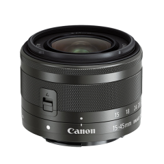 EF-M 15-45mm f/3.5-6.3 IS STM Black