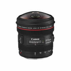 EF 8-15mm f/4L Fisheye USM-Canon Premium Garantie