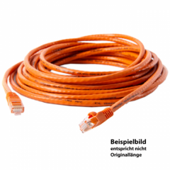 TetherPro Netzwerkkabel Cat6 550MHz 15m, orange