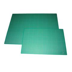 Schneidmatte grün mit/ohne Netzdruck div. Grössen