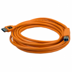 TetherPro USB 3.0 A / 3.0 B 4.6m, orange