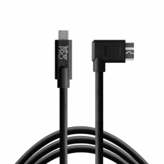 TetherPro USB-C/ 3.0 Micro-B Right 4.6m/15' black