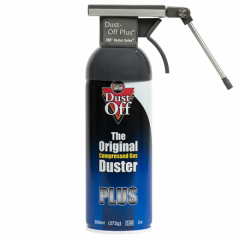 Dust Off Plus Kit Druckluftspray 300 ml 360° vecto