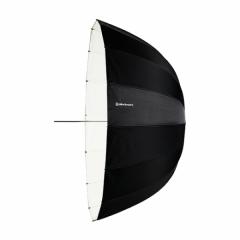 Reflexschirm Deep weiss 125cm