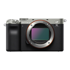 Sony Alpha A7C Body silber