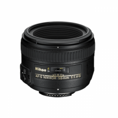 AF-S 50mm f/1.4G - Nikon Swiss Garantie