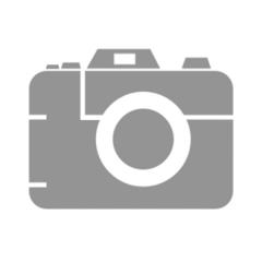 Schirm 80cm weiss PVC