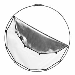 Halo Compact Reflector 82cm (32'') Silver/White