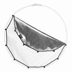 Halo Compact Cover 82cm Silver/White