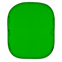 Chromakey Textil HG 1.8x2.15m grün
