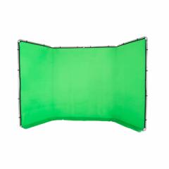 Panoramic Background 4m, Chromakey grün