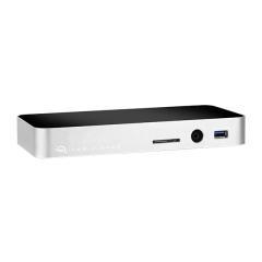USB-C Dock mit Mini DisplayPort silber