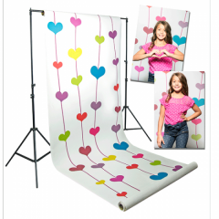 Floating Hearts 1,35m x 5,50m