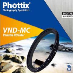 Phottix Variable ND Multi-Coated Filter 62mm
