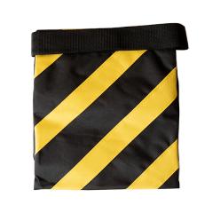 Sandsack gelb/schwarz