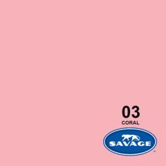 Hintergrundpapier Coral 1.36x11m
