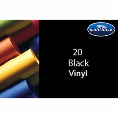 Vinyl Hintergrund  2.75 x 6.1 m Schwarz