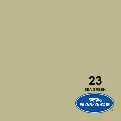 Hintergrundpapier Sea Green 2.72x11m