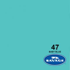 Hintergrundpapier Baby Blue 2.72x11m