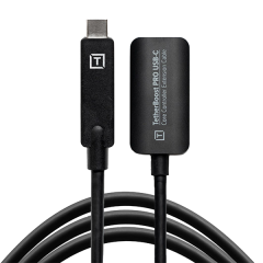 Tether Boost Pro USB-C Core Extension Cable black