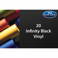 Vinyl Hintergrund 1.52x2.13m Infinity Black