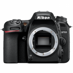 Nikon D7500 Schwarz Body-Nikon Sofort-Rabatt