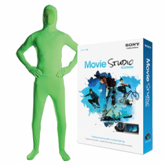 Green Screen Medium Suit Kit