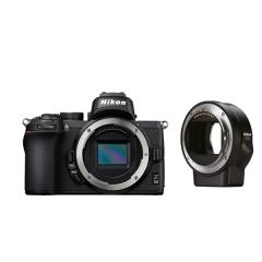 Nikon Z 50 Gehäuse + FTZ Objektivadapter