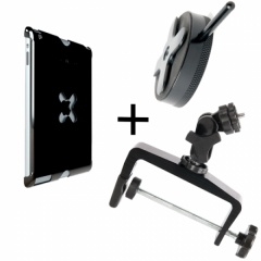 iPad 3&4 Utility Mounting Kit: Wallee+EasyGrip XL