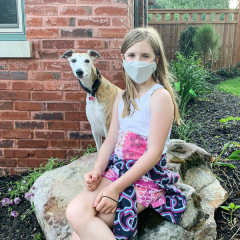 Gesichtsmaske ION-Technologie Kinder div Farben