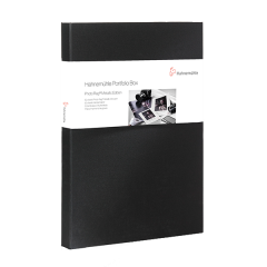 Portfolio Box Photo Rag Metallic A3+ 50 Blatt